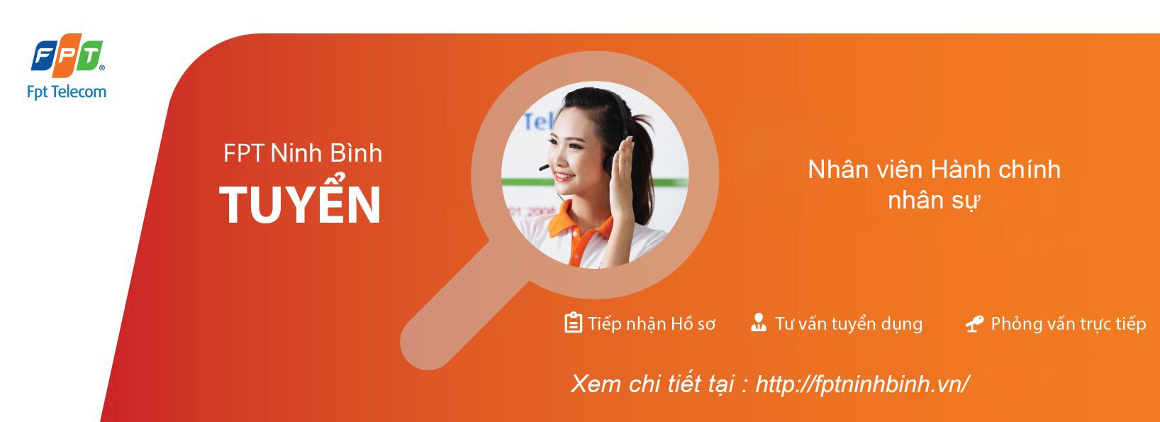 FPT Ninh Bình tuyển nhân viên hành chính nhân sự