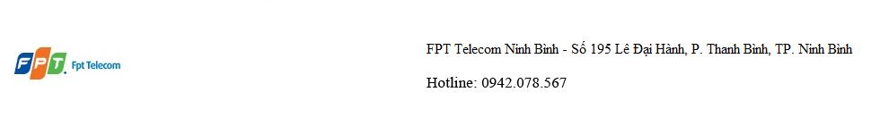 Công ty Cổ phần Viễn thông FPT – FPT Telecom Ninh Bình