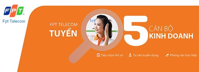 FPT telecom tuyển dụng tháng 5